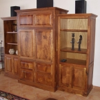 entertainment center side angle