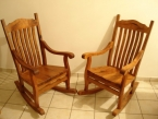 Rocking Chairs and Benches